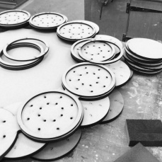 In the making for flockOmania by jewellery artist Zoe Robertson
