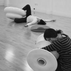 flockOmania - Zoe Robertson jewellery artist Dance studio Day Natalie Garrett Brown and Amy Voris