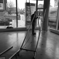 fflockOmania by Zoe Robertson - exhibition set up (46)