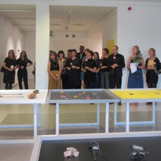 many KORU6 artists present in Imatra with Zoe Robertson